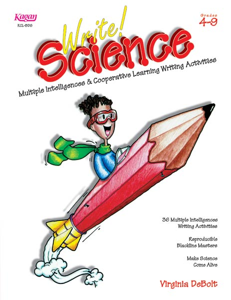 Write! Science cover